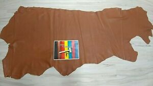 BROWN LEATHER COWHIDE 3 4 oz TOP GRAIN SOFT SIDE