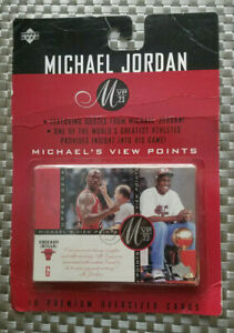 1997 Upper Deck Michael Jordan MVP23 View Points Jumbo 10ct Complete Set Sealed