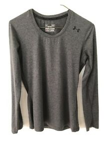 Under Armour Women's Long Sleeve Athletic Running Tennis Training Shirt Size S $14.95