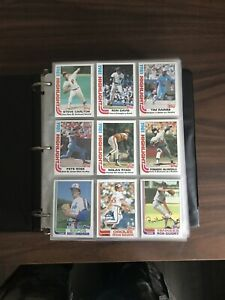 1982 Topps Baseball Complete Set #1 792 in Binder NM or Better Cal Ripken Jr RC