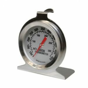 300ºC STAINLESS STEEL OVEN THERMOMETER TEMPERATURE GAUGE