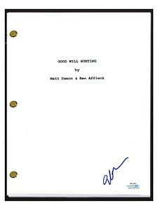 Gus Van Sant Signed Autographed GOOD WILL HUNTING Movie Script Director COA