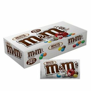 M&M's White Chocolate 1.5oz 24-Count