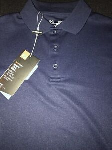 Under Armour Youth Golf Shirt Med Navy NWT $12.99