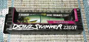 Jackall Dowz Swimmer 220SF Big Bait hard lure slow floating fresh water new