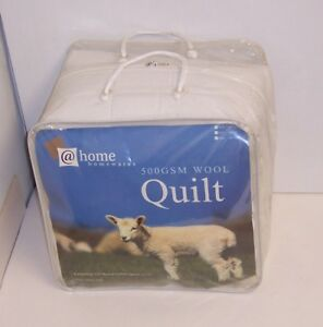 WOOL Fleece filled Quilt with Duvet Cover-King Size (90