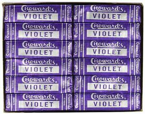Choward's Violet Mints ( Pack of 24 )