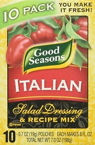 Good Seasons Italian Salad Dressing & Recipe Mix - 10 Pack 0.7 oz.- Fresh
