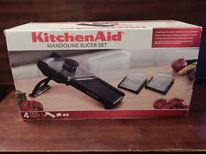 KitchenAid Gourmet Mandoline Slicer KC310BXOBC - Complete - Open Box
