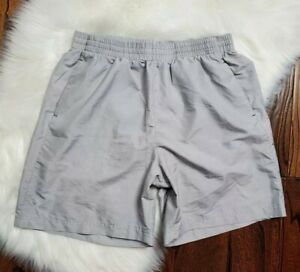 Under Armour Lined Running Athletic Shorts Mens Size Large Gray $20.79