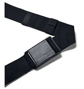 Under Armour UA Golf Stretch Magnetic Men's Black Nylon Poly Cut to Fit Belt $30.00