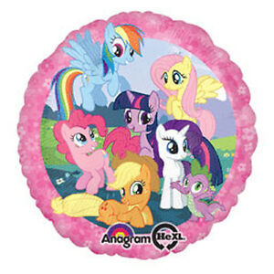 Balloons 18 My Little Pony Pink Mylar Foil Balloon Party Decorations Gifts