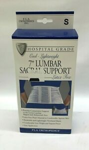 FLA Orthopedics Lumbar Sacral Support Latex Free Sizes Vary NEW $18.00