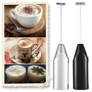 Electric Milk Frother Drink Foamer Whisk Mixer Stirrer Coffee Eggbeater Kitchen