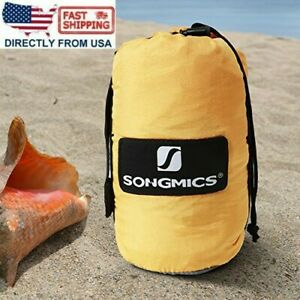 SONGMICS Sand/Water-Resistant Beach Blanket Mat Extra Large Picnic Mat Quickdry