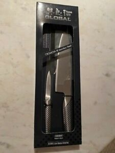 Global Classic 2 Piece Kitchen Knife Set, Model G-4615 NEW IN BOX