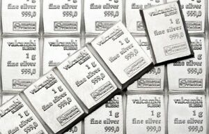 10 x 1 gram Valcambi Suisse Silver Bars .999 Lot of 10 Volume Pricing $21.48