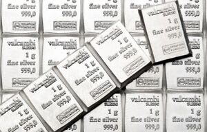 10 x 1 gram Valcambi Suisse Silver Bars  .999  Lot of 10  Volume Pricing $17.88