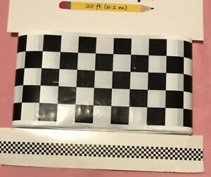 New Kids Checkered Play Tape 20ft. Ages 8 And Up