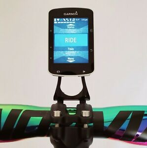 Out Front Stem Mount Cycling Computer Garmin Wahoo Cateye GoPro GPS Rainbow