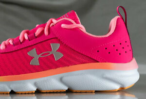 UNDER ARMOUR ASSERT 8 shoes for girls, NEW & AUTHENTIC , US size YOUTH 4 $44.99