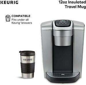 Travel Coffee Mug With Lid Insulated Stainless Steel Leak Proof No Spill 12oz