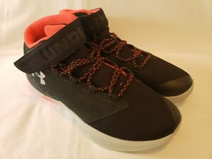 Under Armour Get B Zee Black Glacier Basketball Shoes 1298310 001 Mens Size 13 $49.95