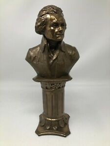 Tom Clark Cairn Bronze Sculpture Thomas Jefferson Bust
