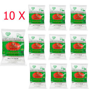 10 x 200g Bag Thai Green Tea Mix Cha Tra Mue Number One Brand Green Tea Latte.