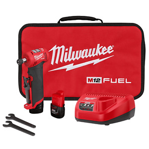 Milwaukee Electric Tool 2485 22 M12 Fuel™ Right Angle Die Grinder Kit NEW $264.99