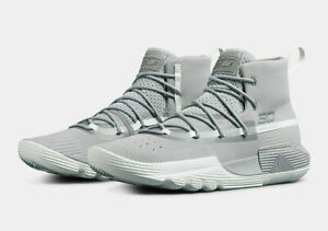 Under Armour UA Stephen Curry SC 3ZERO II Men's Basketball Shoes Gray Size 13 $64.99
