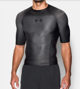 $99 Under Armour Charged Compression Short Sleeve Shirt Size XL 1270617 040 NEW $47.77