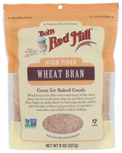 Bobs Red Mill Wheat Bran Pack of 4 8 OZ Bags