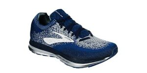 brooks mens running shoes size 10 new w o Box Authentic Blue Navy Bedlam Sale $79.95