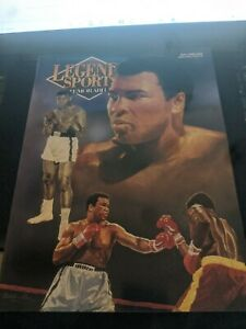 Legends Mag. Muhammad Ali Cover May June 1993 w 9 Card Sheet 3 Post Cards $10.00