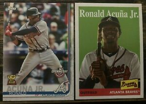 RONALD ACUNA Jr. 2019 Topps All Star ROOKIE LOT Archives 100 Opening Day Braves