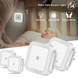 Creative Square Lamp Intelligent Energy Saving Light Sensor Lamps Baby Wall Lamp C $9.98