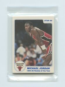 1985 Star Last 11 R.O.Y. Factory Sealed Bagged Set: Michael Jordan, Larry Bird