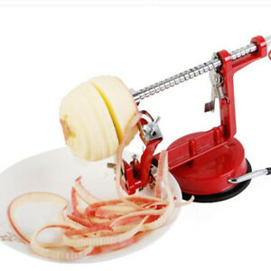 3 in 1 Apple Pear Peeler Slicer Corer Potato Cutter Parer Fruit Dicer Kitchen US