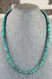 Navajo Turquoise Necklace Native American