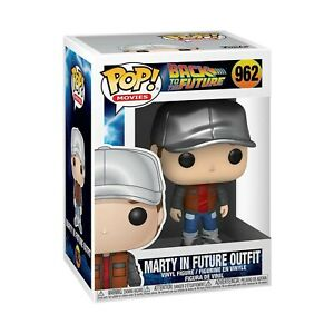 Funko Back To The Future POP Marty In The Future Outfit Vinyl Figure NEW