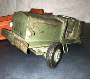 Vintage Doepke Pressed Steel 2009 Euclid Bottom Dump Earth Hauler *PARTS*