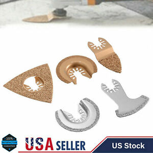 New 5 Pcs Multi-Tool Oscillating Saw Blades Accessories Set for Fein Multimaster