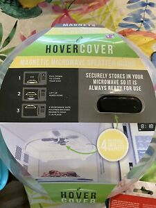 Hover Cover Microwave Oven Splatter Guard