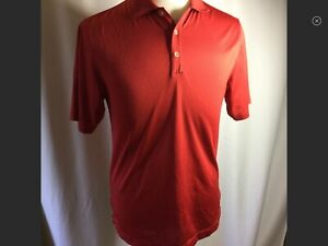 NIKE GOLF Dri Fit Red Polo Shirt Size Medium $4.99