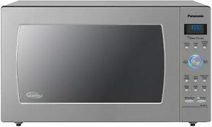 Panasonic Countertop Built-In Microwave Oven NN-SD975S 2.2 Cu Ft Stainless Steel