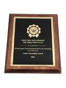 Middle School Principal Dwight Andy Daly Movie Prop Wall Plaque 03 $26.99