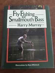 Fly Fishing for Smallmouth Bass by Harry W. Murray signed fish book