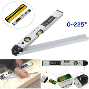 16 Electronic Level Magnetic Digital Protractor Angle Finder Meter Gauge $37.88