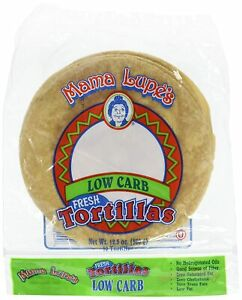 4 Pack Fresh Mama Lupe Low Carb Tortillas BUY MORE SAVE UP TO 15% MORE OFF!